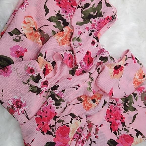 Other - Floral print jumpsuit